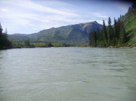 The mighty Smokey River
