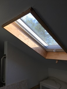 Skylight one done.